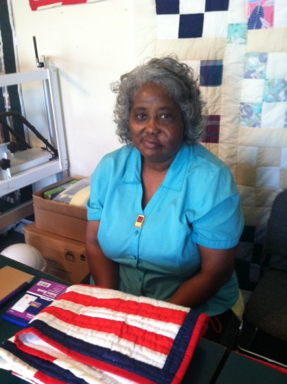 Mary Ann Pettway, quilter extraordinaire.
