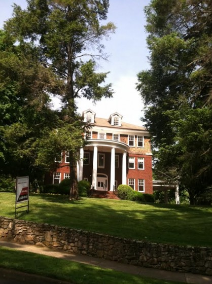 One of Asheville's many mansions.