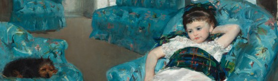This painting was a collaboration between Cassatt and Degas.