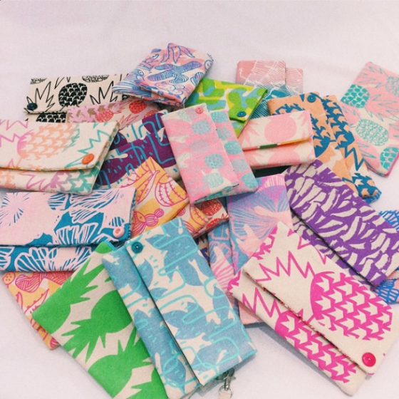 Jana Lam's clutches. Can't get enough of 'em!
