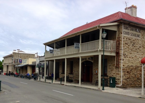 The Dunstan Hotel, where Tracy and her friends stayed during a friend's wedding in Clyde.