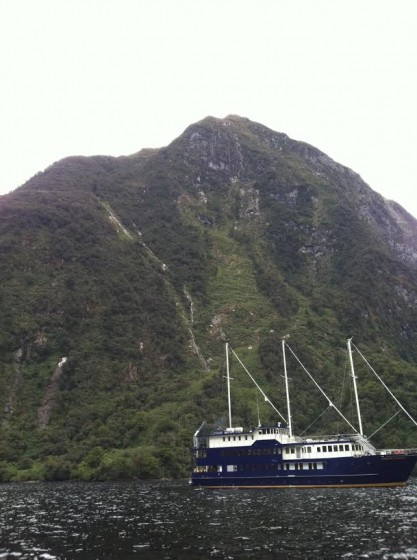 The Fiordland Navigator, owned by Real Journeys