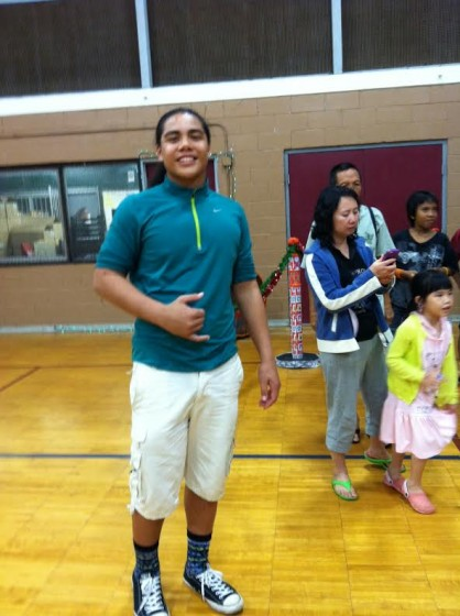 Hale is one of our many scholarship success stories. A freshman at Punahou, he is a rising football star and the national fire dance champion in his age group.