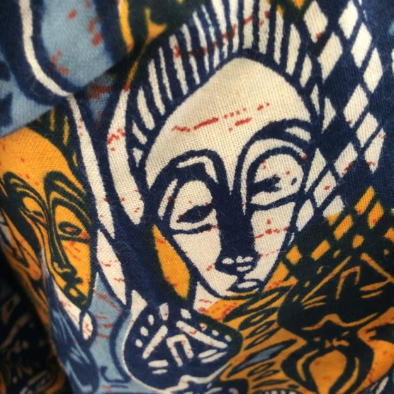 Vested Interest 2015 African fabric