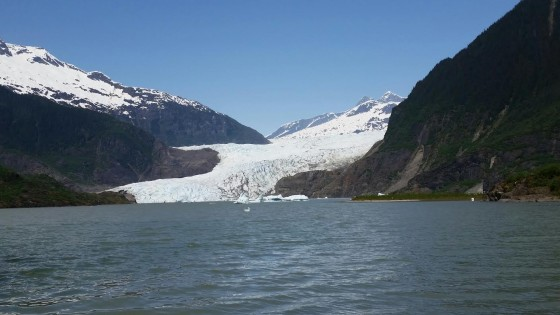 Mendenhall Glacier. Photo by Jerry Mayfield