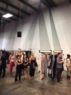 HI Design Commune was artfully curated with ropes that looked like sails going form ceiling to racks to support the designers' creations.  Photos courtesy of Ginger Waters