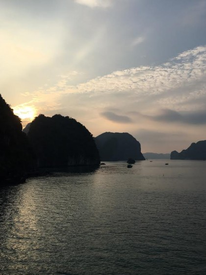 Ha Long Bay great sky