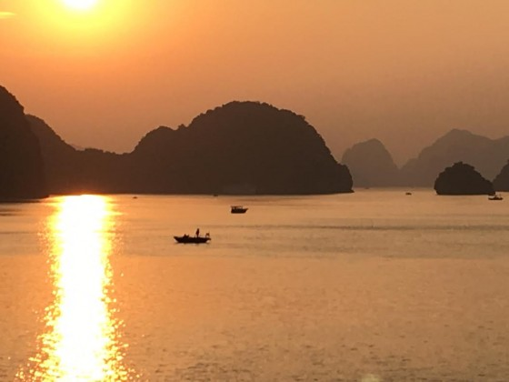 Ha Long Bay sunset 2