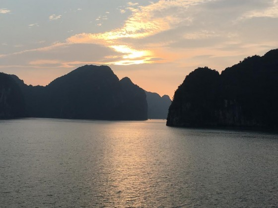 Ha Long Bay sunset 3