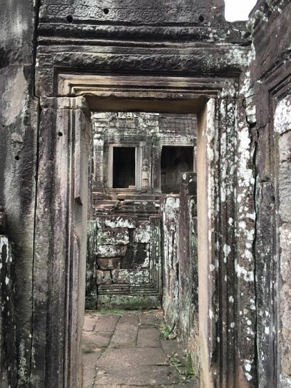 Angkor Thom doorways