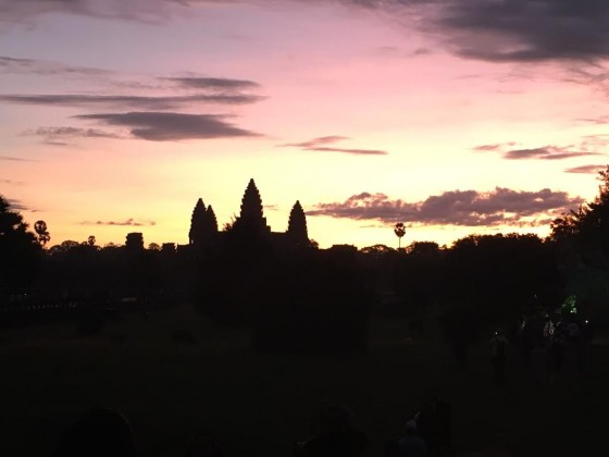Angkor sunset 2