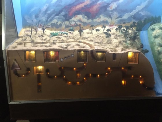 A model of the Cu Chi Tunnel network.