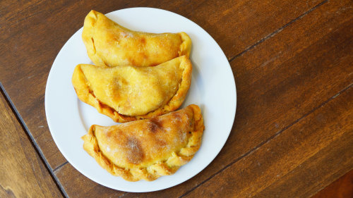 Empanadas are a must-try in Buenos Aires. Whether stuffed with beef, chicken or vegetables, they are delicious!