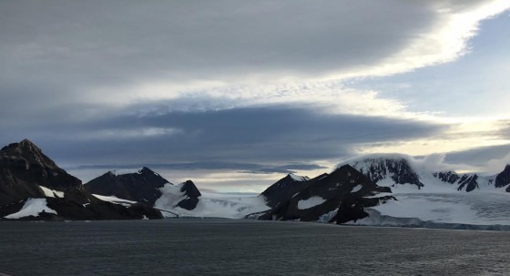 Every glacier seemed to come with a perfect sky.