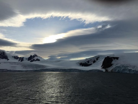 Another gorgeous sky in Antarctica.