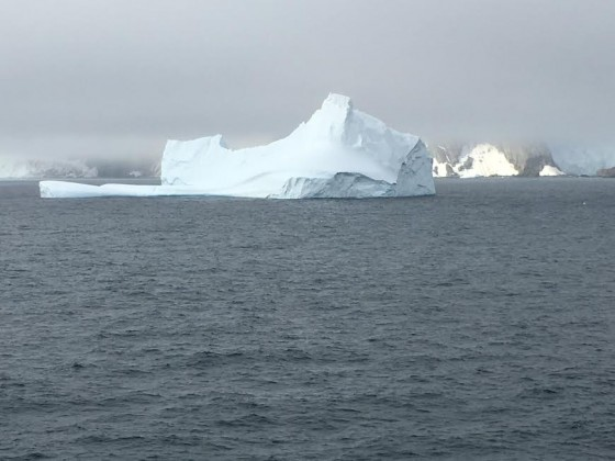 Many Antarctic icebergs look like man made sculptures - but man's work cannot match their beauty!