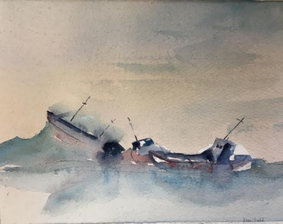 Watercolor by Jerry Mayfield
