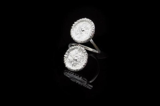 The collection includes several styles of rings.
