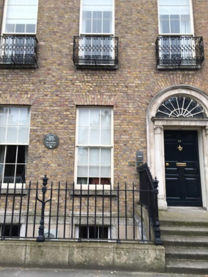 Yeats' home in Dublin.