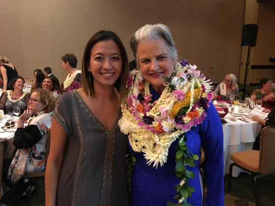Pauline Wun has been a dedicated volunteer for all four Malama Palama events.