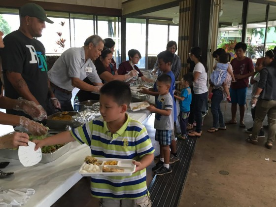 For many of our Palama keiki, this will be their only Thanksgiving meal this year.